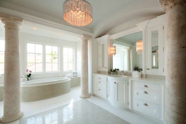 Traditional bathroom design