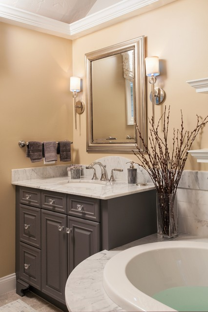 Restful Retreat Transitional Bathroom Boston By Roomscapes Luxury Design Center
