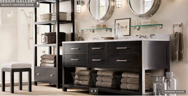Genial Restoration Hardware Bathroom Eclectic Bathroom