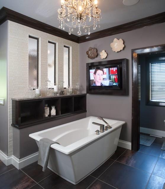 Restoration Hardware Style Home - Transitional - Bathroom - cleveland ...