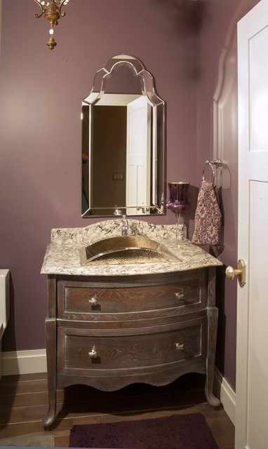 Restoration Hardware Style Home transitional-bathroom