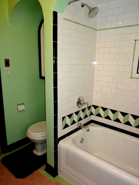 vintage tile bathroom retro bathroom contemporary bathroom portland by 14968