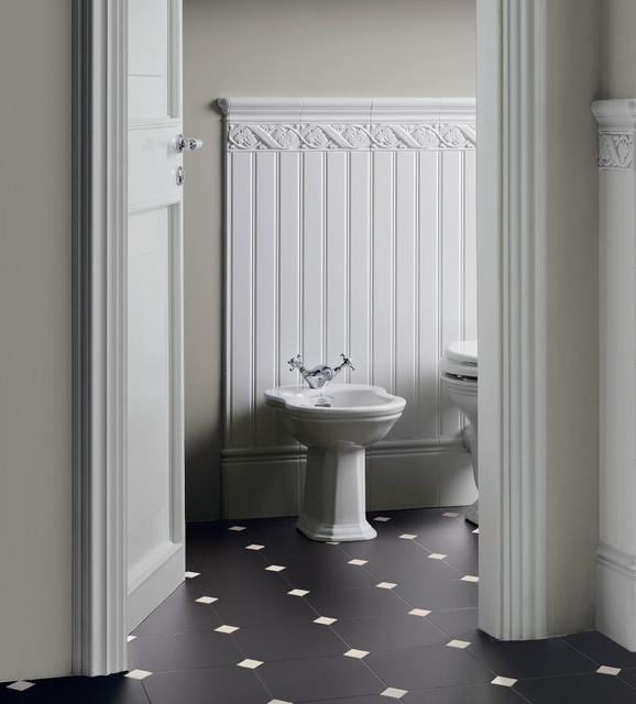 Retro classico stanza da bagno altro di ceramiche - Ceramiche bagno classico ...
