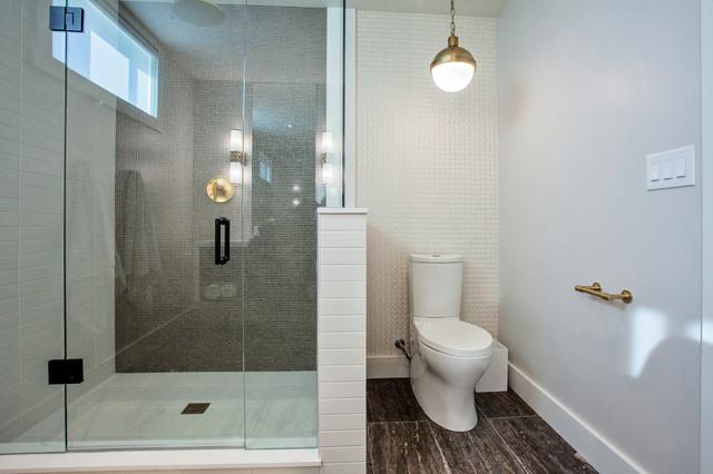 Retro Chic Bathroom contemporary-bathroom