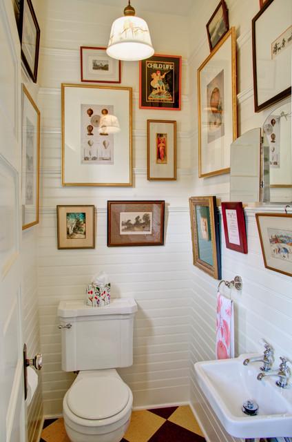 Retro kitchen classique salle de bain portland par for Salle de bain kitch