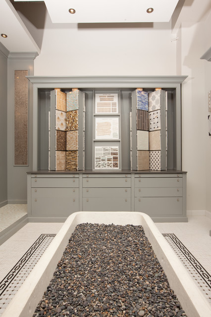 Reve Surface Showroom traditional-bathroom