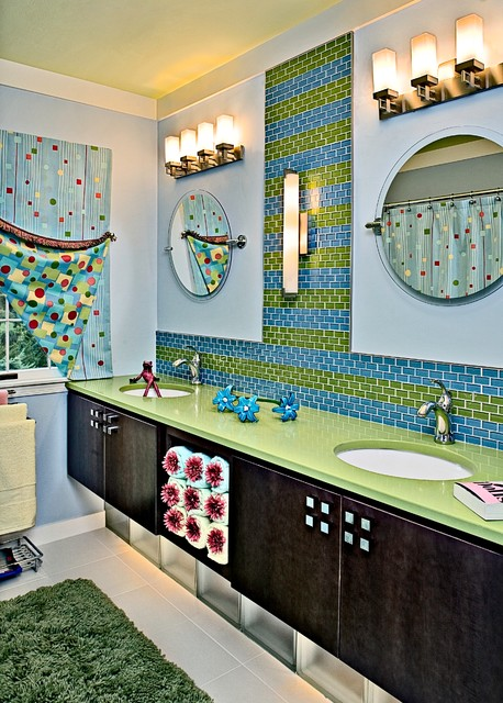 Revisions Past Projects eclectic-bathroom