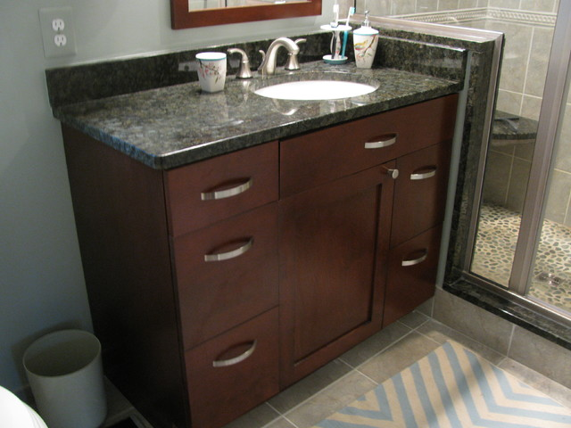 Revisions Past Projects traditional-bathroom