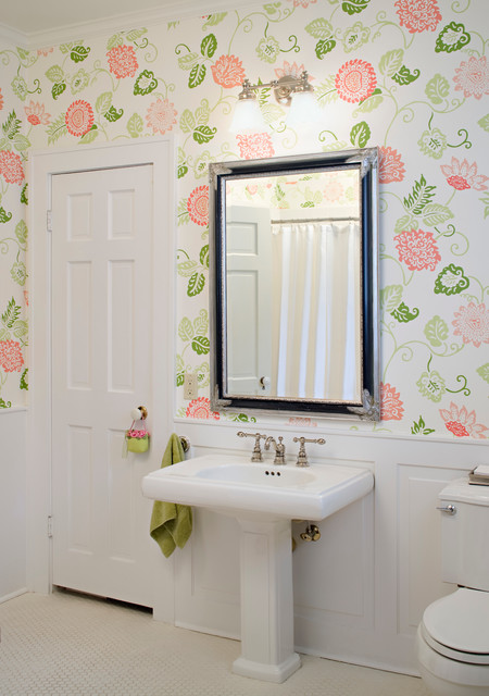 Modern Colonial Bathrooms: Revived Colonial In Baton Rouge, Louisiana