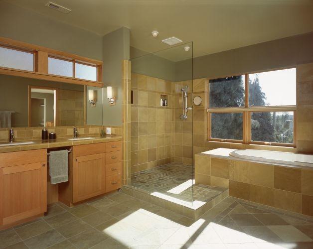 Rhodes Architecture + Light modern-bathroom