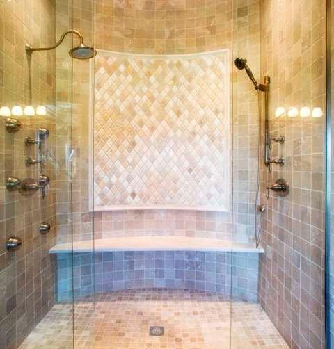 Rhomboid Bathroom Panel