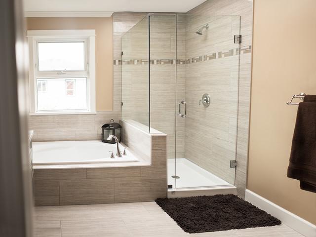 Rich transformation contemporain salle de bain for Transformation salle de bain