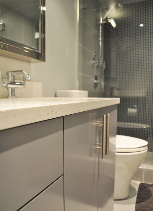 Did you use ikea kitchen cabinets for the bathroom vanity - Bathroom cabinets ikea ...