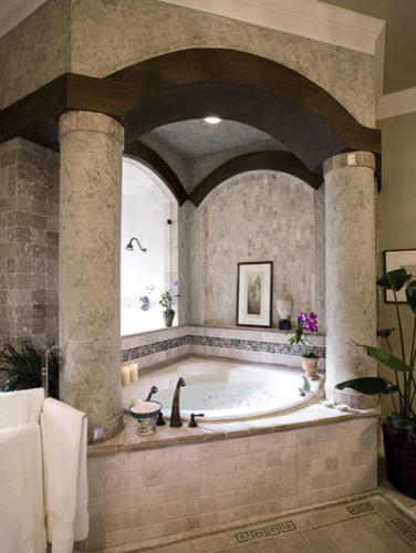 Richens Designs - Residential: Bathroom Design mediterranean bathroom