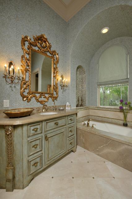 Richmond estate mediterranean bathroom houston by for Bathroom design richmond
