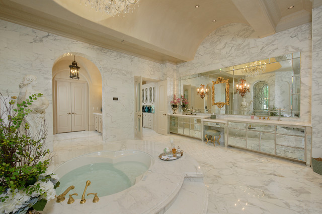 Richmond estate mediterranean bathroom houston by for Bathroom designs houston