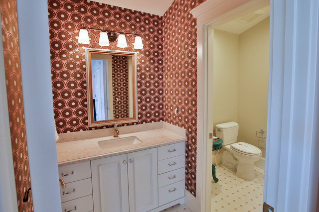 Rideout Residence transitional-bathroom