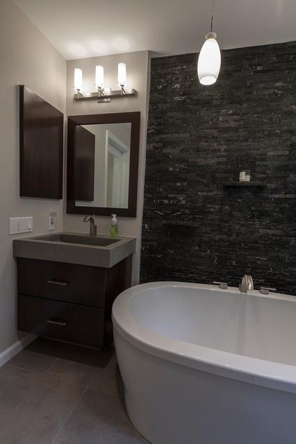 Edgy & Contemporary contemporary-bathroom