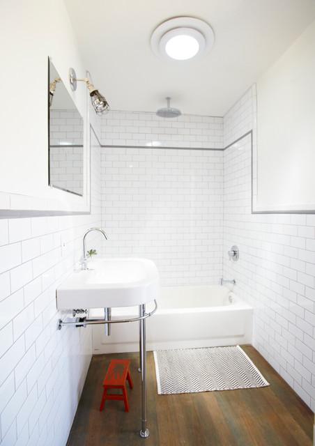 Ridgeview Ave, Eagle Rock contemporary-bathroom