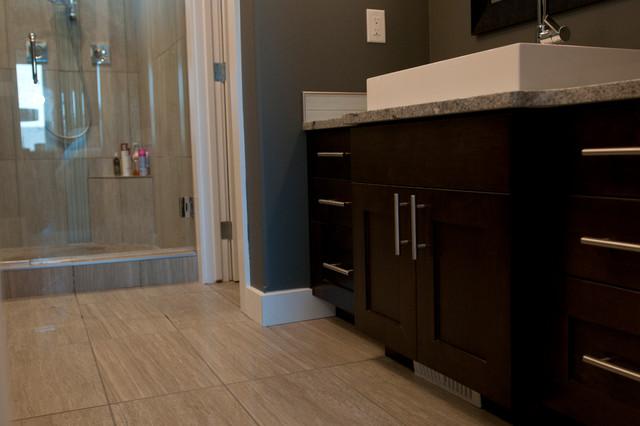Rift Oak contemporary-bathroom