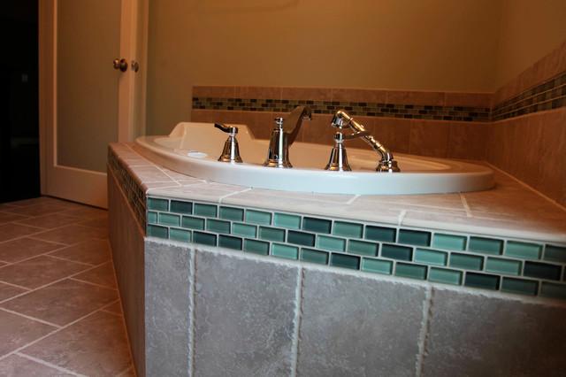 River Cottage #2 modern-bathroom