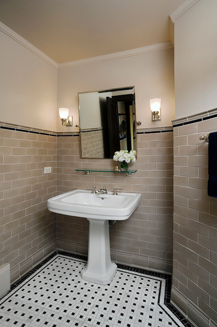 River Forest 1 Traditional Bathroom Chicago By