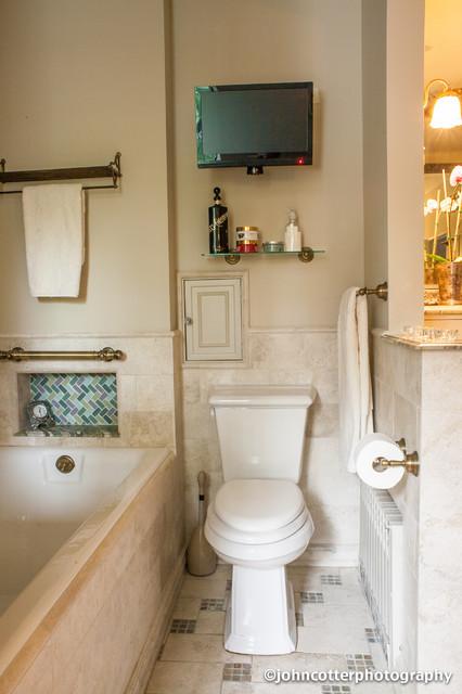 River Forest Master Bath traditional-bathroom