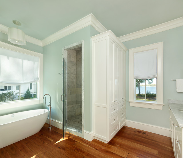 River House Beach Style Bathroom Charleston By