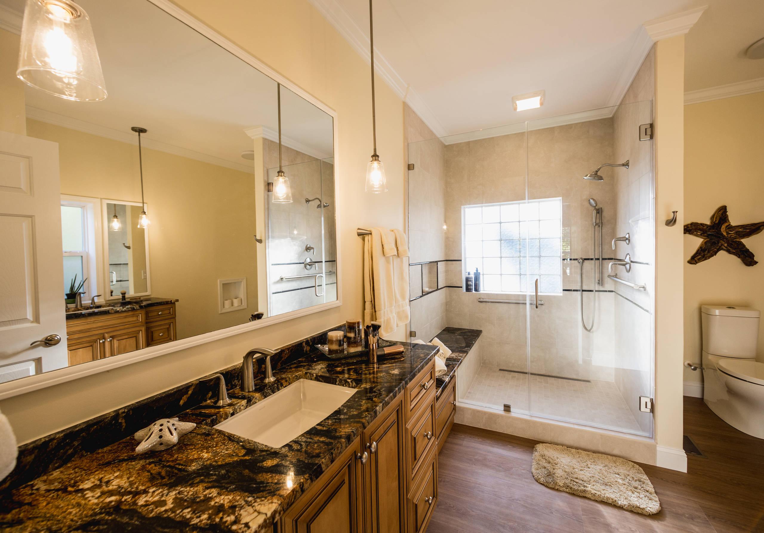 River House Master Bathroom