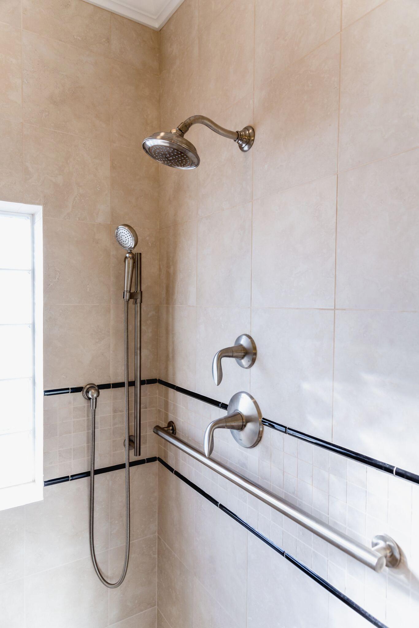 River House Shower Plumbing