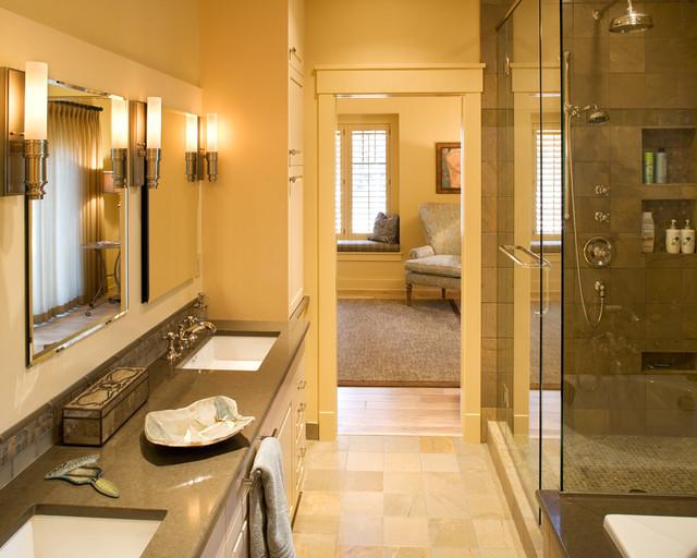River Retreat Master Bath eclectic-bathroom
