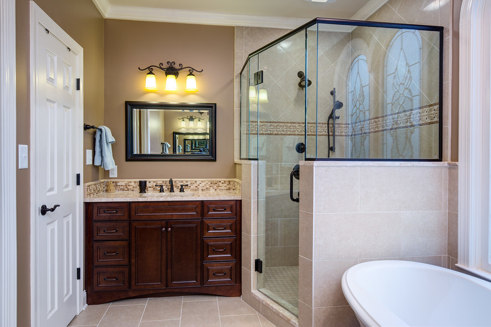 Riverchase master bath- Lovette Construction - Traditional ...