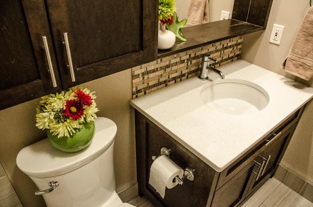 Riverpointe reno transitional bathroom edmonton by for Bathroom decor edmonton