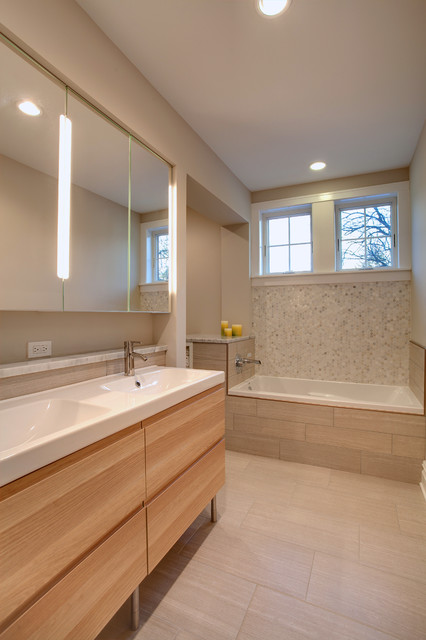 Riverside Addition Contemporary Bathroom Other by