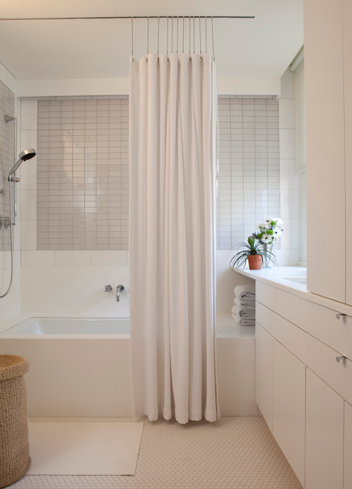 Forums Recessed Shower Curtain Track