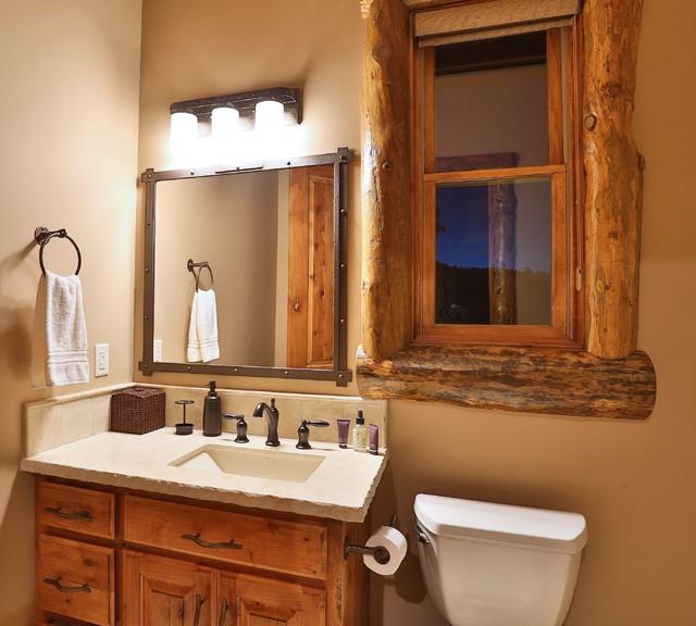 bathroom vanity rustic birdcages