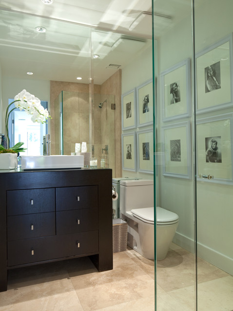 Robert Bailey Interiors contemporary-bathroom