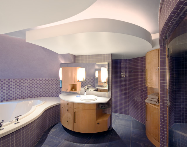 Robert J Erdmann Design, LLC contemporary-bathroom