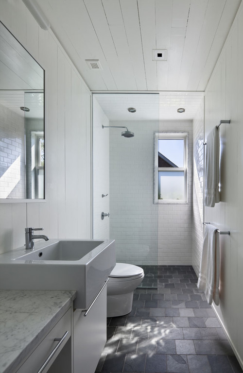 Modern Bathrooms For Smaller Spaces Dallas Home Design Firm Sardone Const
