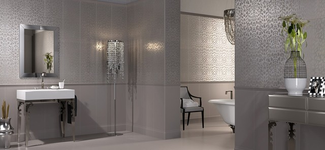 Roberto Cavalli Luxury Tiles - Contemporary - Bathroom - New York ...