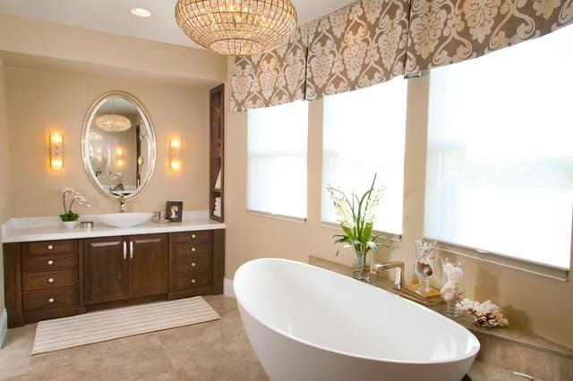 robeson design luxury spa like bathroom transitional bathroom