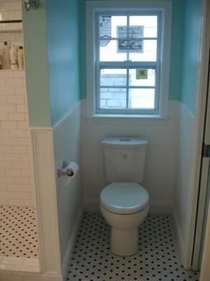 Robinson veatch attic remodel bathroom dormer for Bathroom dormer design