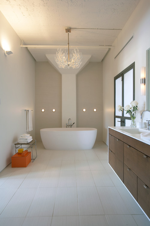 Contemporary Bathroom by FAB Architecture