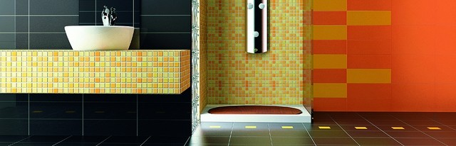roca bathroom tiles roca tile modern bathroom by timeless interiors 14236