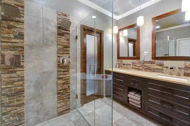 Rockefeller contemporary-bathroom