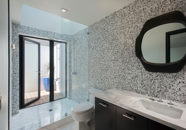Rockwell on sunset contemporary bathroom los angeles for Sunset bathroom designs