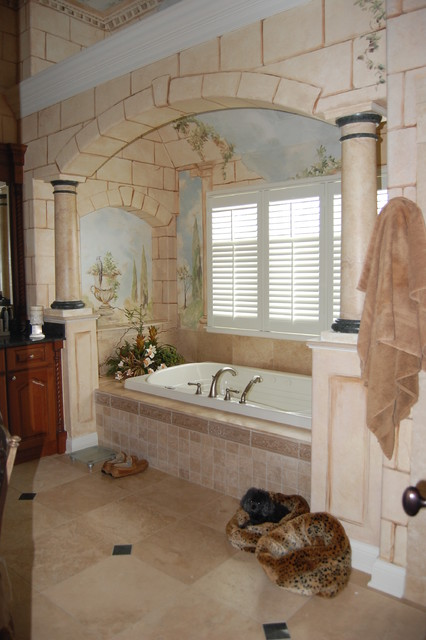 Roman Bath Traditional Bathroom Chicago By Doreen