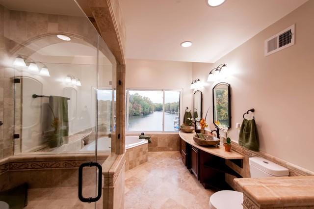 Roman-style Bath Adds Splendor to Reston Townhome ...