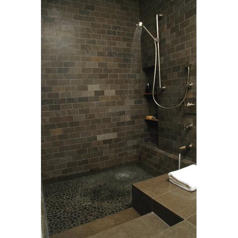 Roman tub shower modern bathroom other by at6 for Bathroom remodel 10k