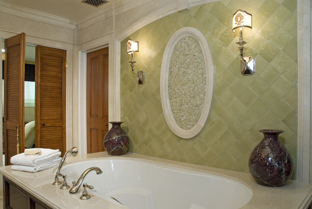 Romantic Bath mediterranean-bathroom